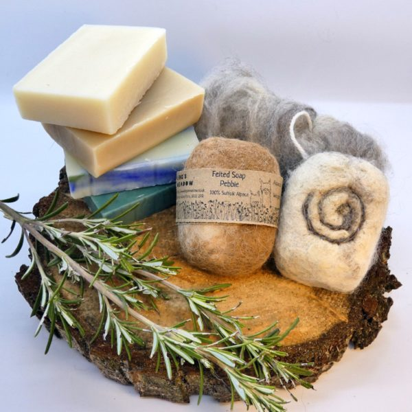 felted soap